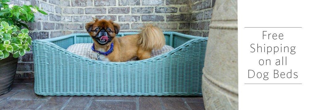 peak season dog bed with meg the pekingnese.jpg