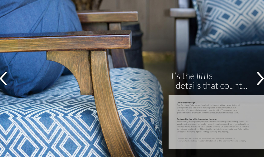 Details matter when it comes to product photography