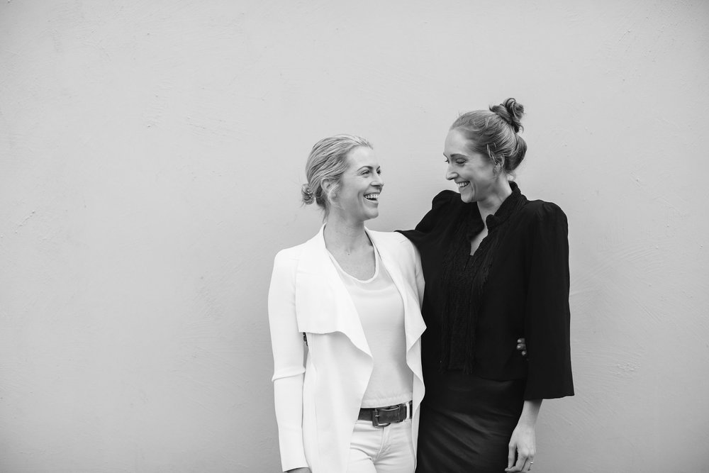 Amelie George Cofounders Alison & Sarah