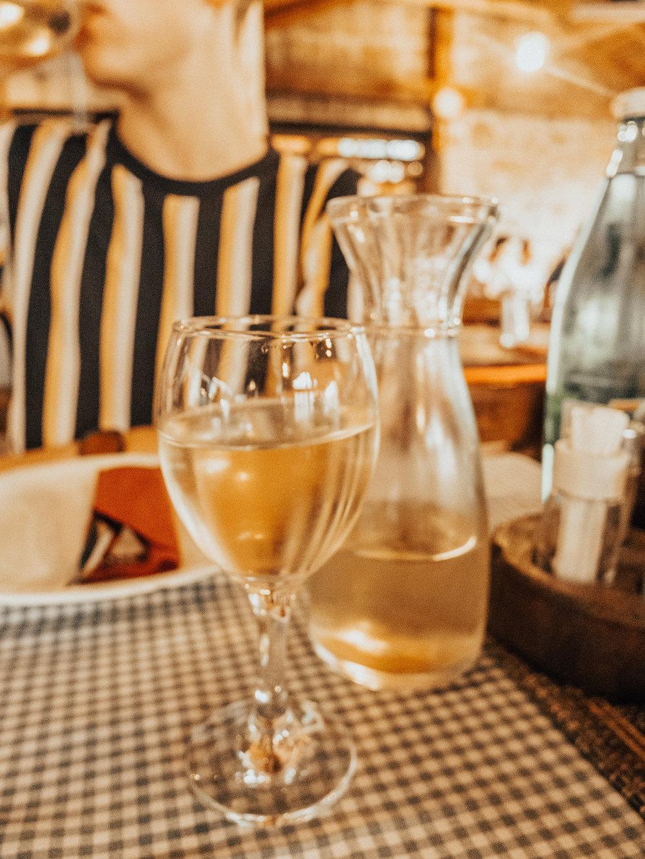 Konoba Dubrava's house wine (so yummy)