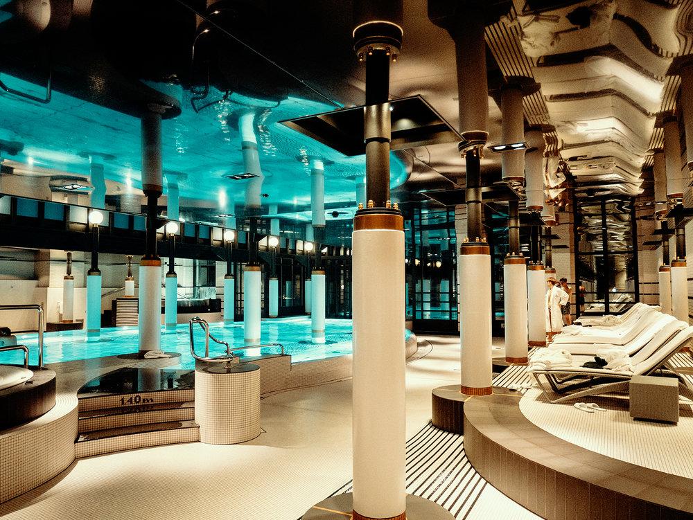 Spa Area at Victoria Jungfrau Hotel
