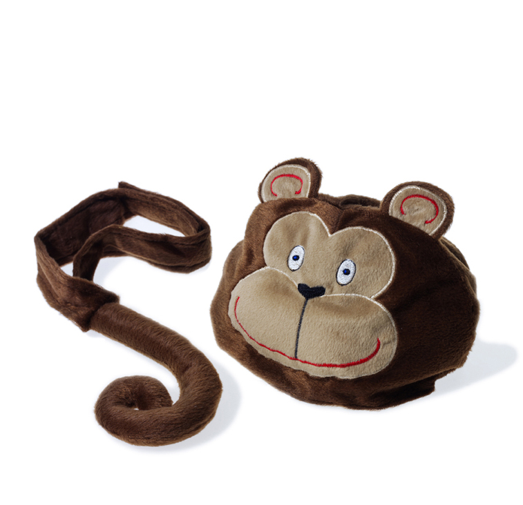 Animal hat and tail - Monkey