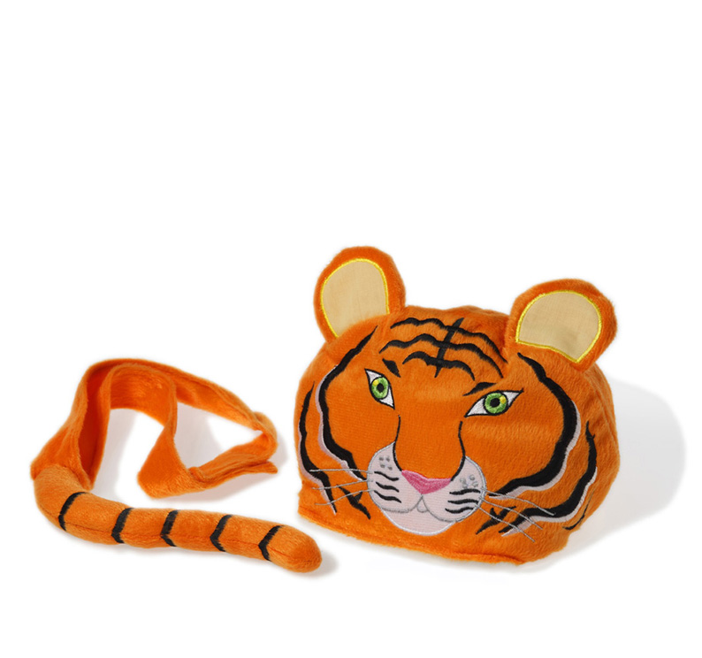 Animal hat and tail - Tiger