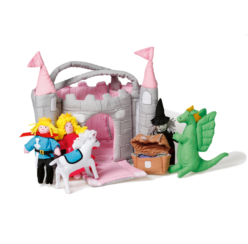 Castle, pink