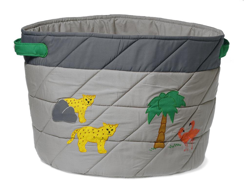 Storage Basket, Wild Animals