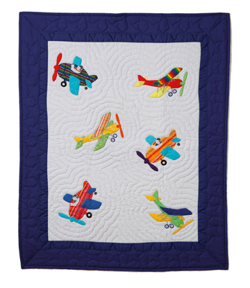 Baby Quilt, Airplanes