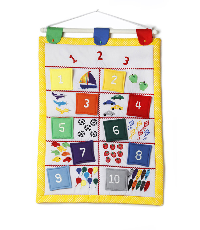 Learn To Count Wall Hanging
