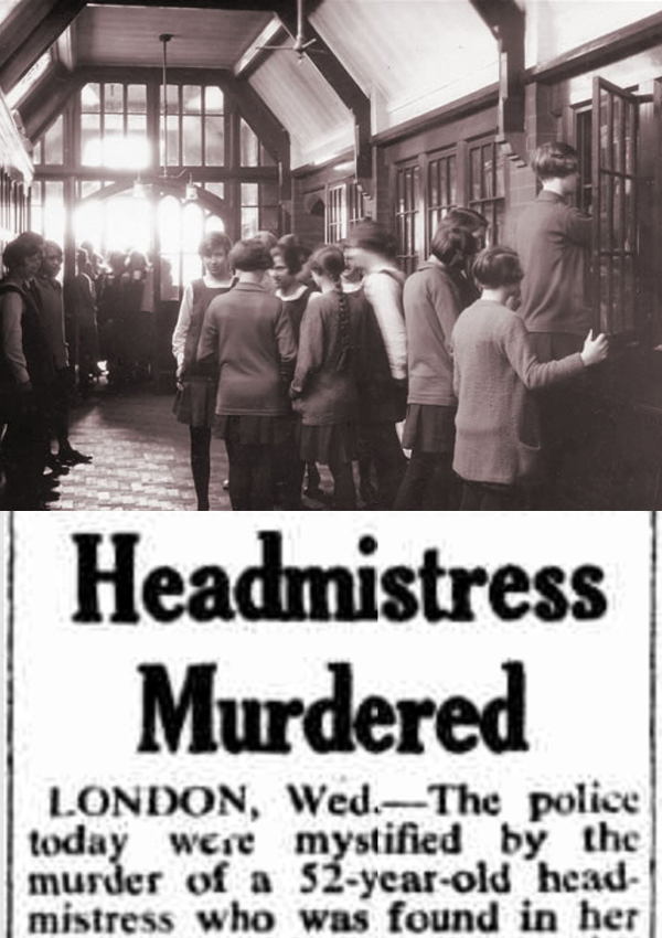 The Murder of Headmistress Winifred Mulley - Written for: A+E UK: Murdertown Podcast