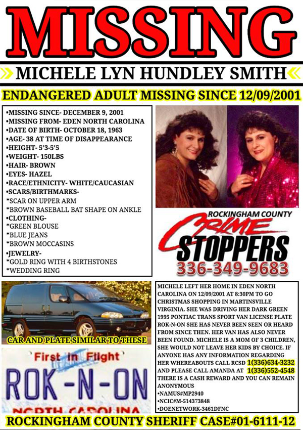 The Disappearance of Michele Lyn Hundley-Smith - Co-written for: The Vanished Podcast