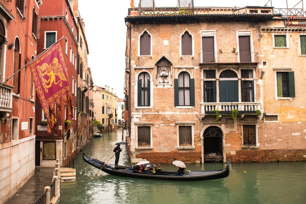 Florence, Venice and Bologna, Italy -