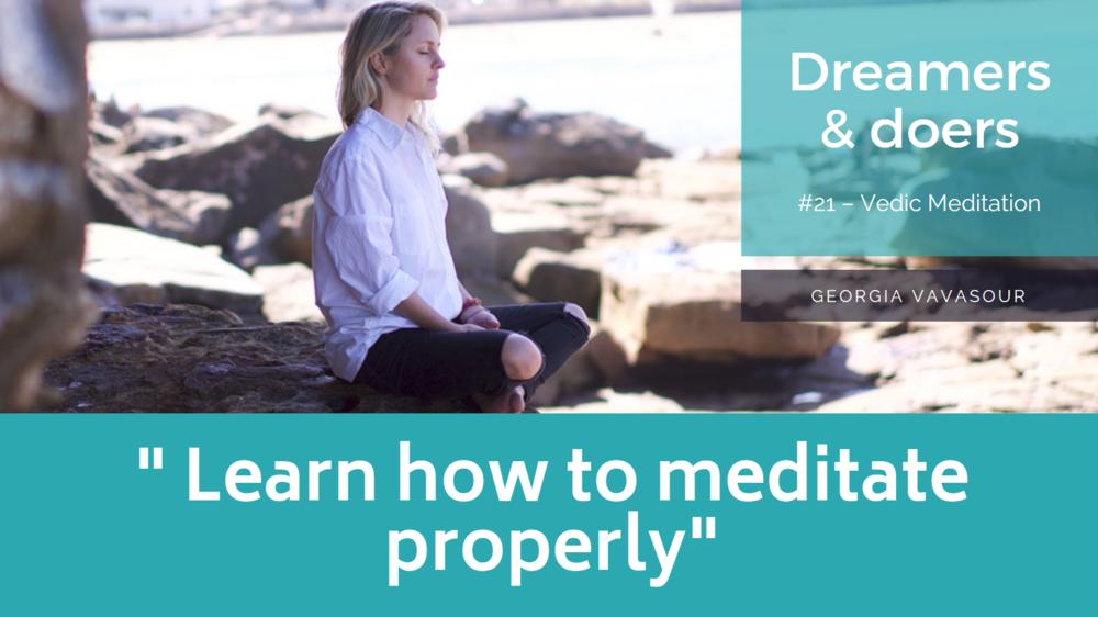 Copy of Vedic Meditation