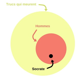 - Prémisse 1 : Tous les hommes sont mortelsPrémisse 2 : Socrate est un hommeConclusion : Donc, Socrate est mortel.