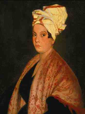 """Marie Laveau, aka """"The Voodoo Queen of New Orleans,"""" one of the most powerful and feared black women in 18th-century Louisiana."""
