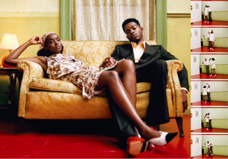 If Beale Street Could Talk  stars Kiki Layne and Stephan James for  Vogue .