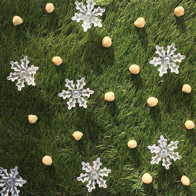 • A little sprinkle of #wasabi Kenko #Christmas? Yes please! 😋❄️💚 • #GetKenko #BakedSoybeanSnack