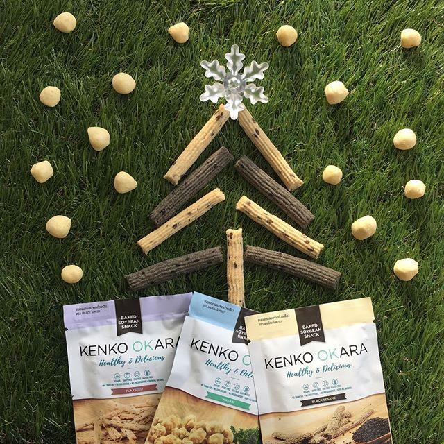 • Ho ho ho! 🎅🏻 Merry Christmas! 🎄🎁 • #GetKenko #BakedSoybeanSnack