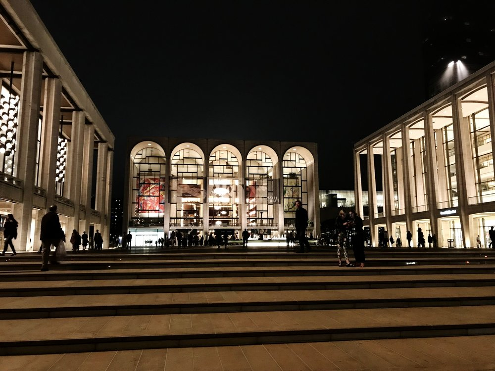 Josie Roberston Plaza at the Lincoln Center