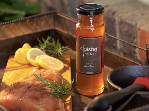 Bourbon Infused Honey  Cloister Honey