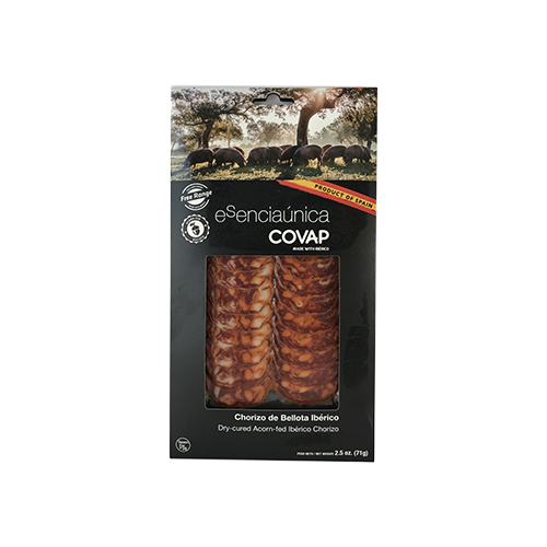 Sliced Iberico Chorizo  Covap