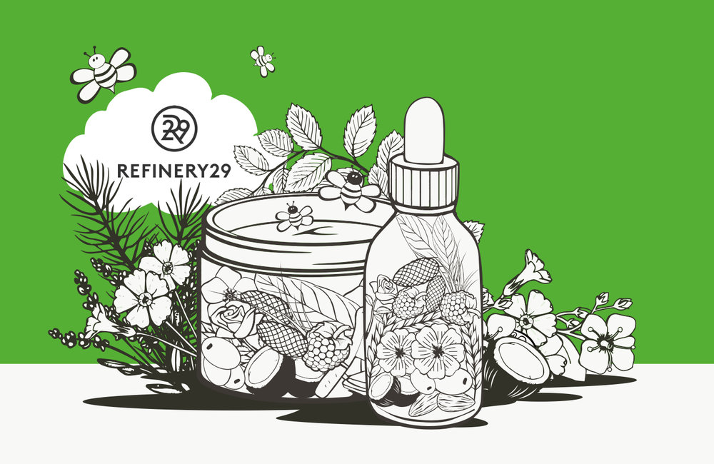 "- ""A natural ingredient that's easily sustainably sourced and harvested, with endless results for your skin? Count us in"" - Refinery29"