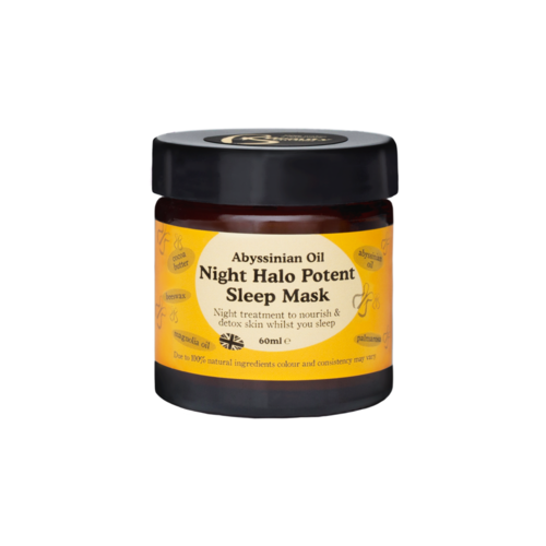 - Abyssinian Oil Night Halo Potent Sleep Mask