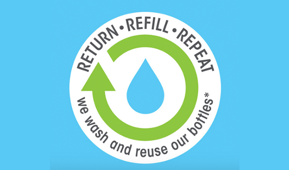 Sustainability. Always. - Return • Refill • Repeat (click to find out more)Our new Seahorse Plankton+ products (and lots more soon) carry this stamp. This means you can send your packaging back to us and we'll wash and reuse it.