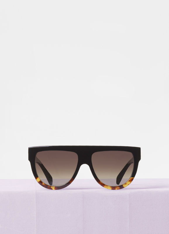 CELINE- CL4001F Sunglasses   £290   COLOUR  Black Tortoise   CATEGORY  SUN   MATERIAL  Acetate   SHAPE  Square