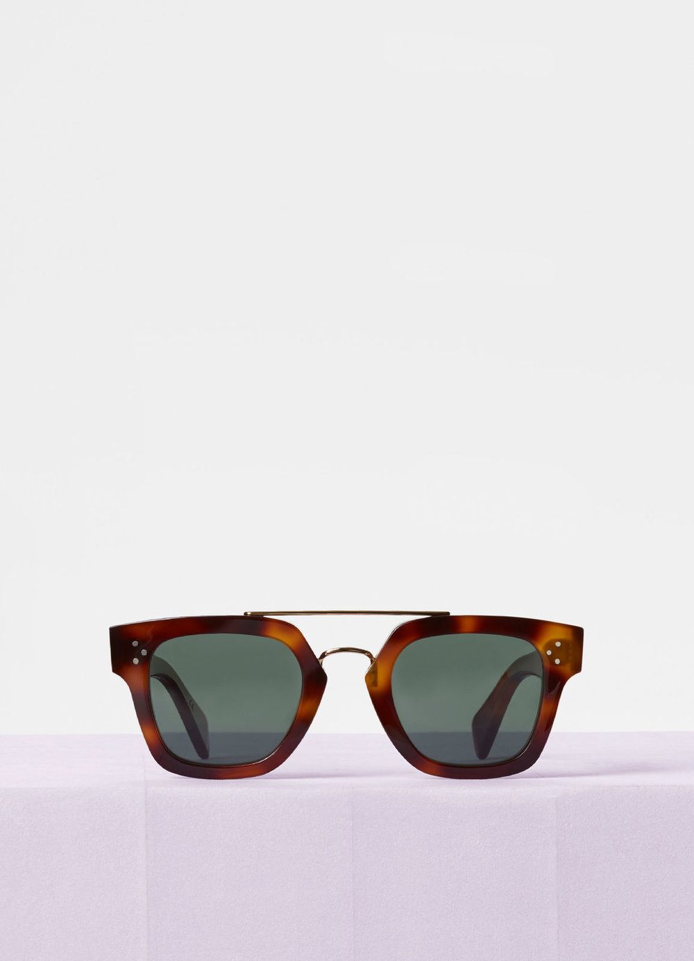 CELINE- CL40024U Sunglasses   £340 (Sold out)   COLOUR  Tortoise/Gold   CATEGORY  SUN   MATERIAL  Combination   SHAPE  Wayfarer