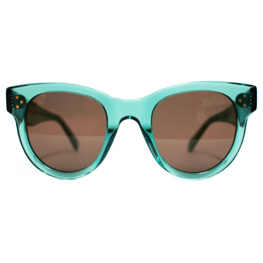 CELINE- CL40003I Sunglasses   £270   CATEGORY  SUN   COLOUR  Blue   MATERIAL  Acetate   SHAPE  Cat Eye