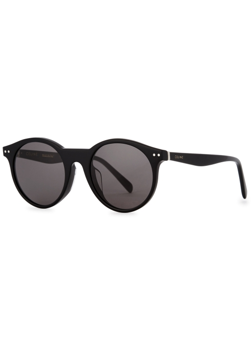 CELINE- CL400221 Sunglasses   £250   COLOUR : Black   CATEGORY  SUN   MATERIAL  Acetate   SHAPE  Oversized