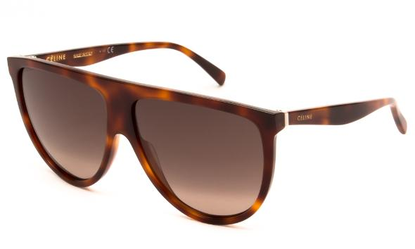 CELINE - CL40006I Sunglasses   £270   COLOUR  Tortoise   CATEGORY  SUN   MATERIAL  Acetate   SHAPE  Square
