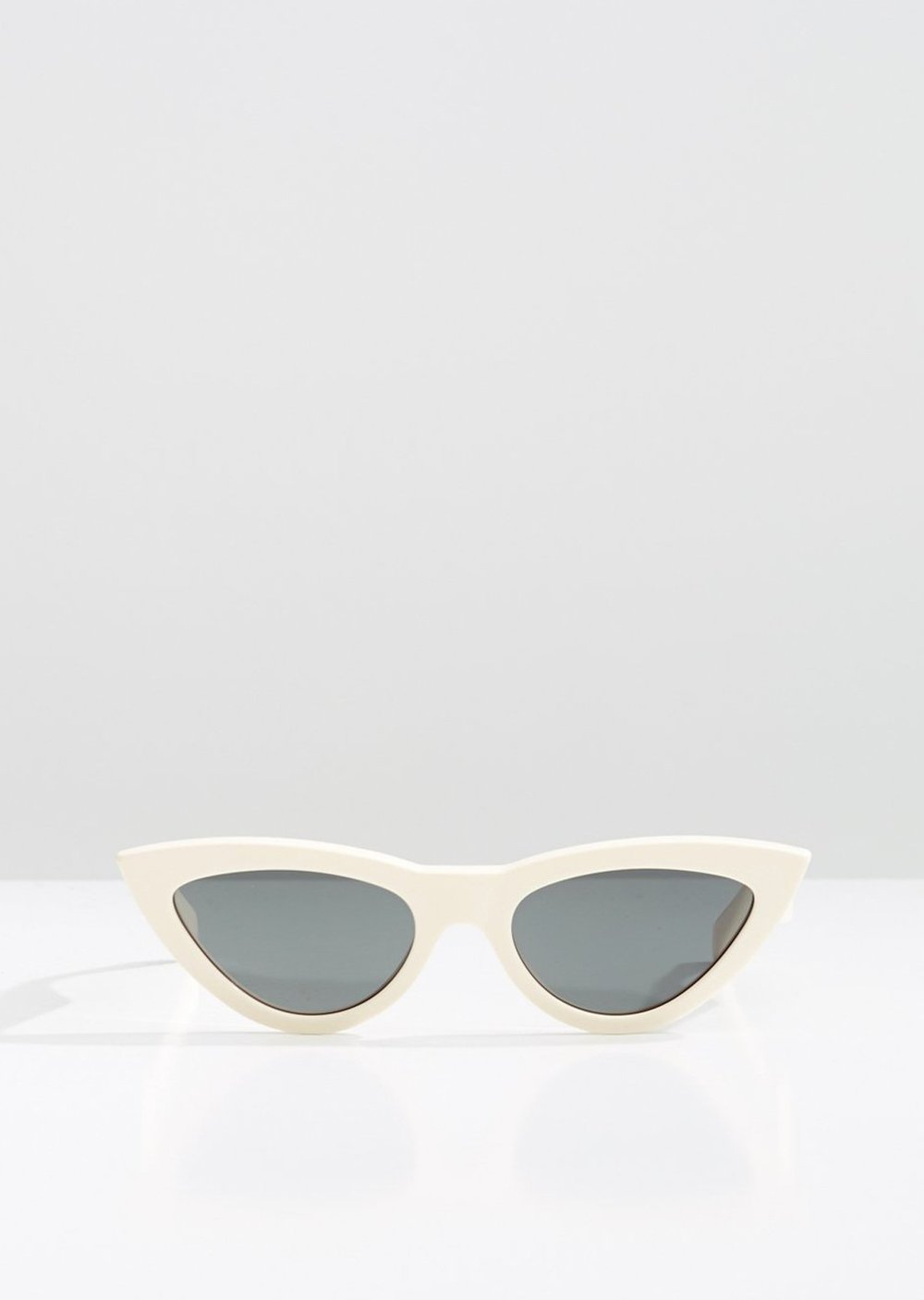 CELINE - CL40019I Sunglasses   £290   COLOUR  White   CATEGORY  SUN   MATERIAL  Acetate   SHAPE  Cat Eye