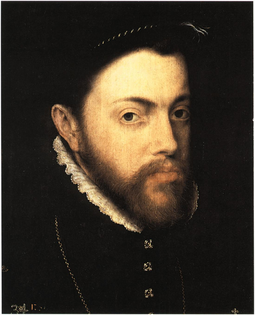 Philip II of Spain , Antonis Mor, (c. 1555-8)