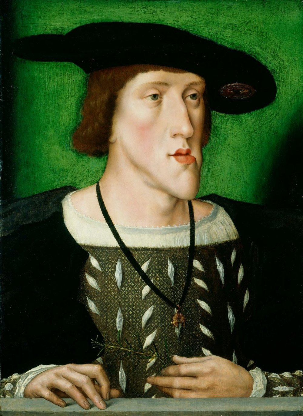 Portrait of Charles V from 1514-16 by an unknown Flemish artist