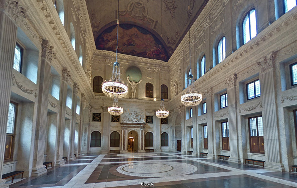 Burgerzaal   today (Royal Palace)
