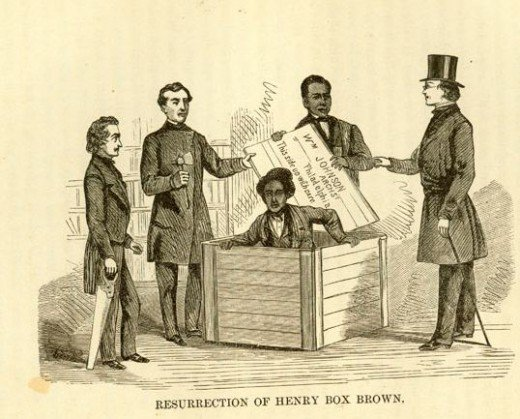 Henry Box Brown had himself shut into a box and then hoped beyond hope that the postal service didn't lose him in transit.