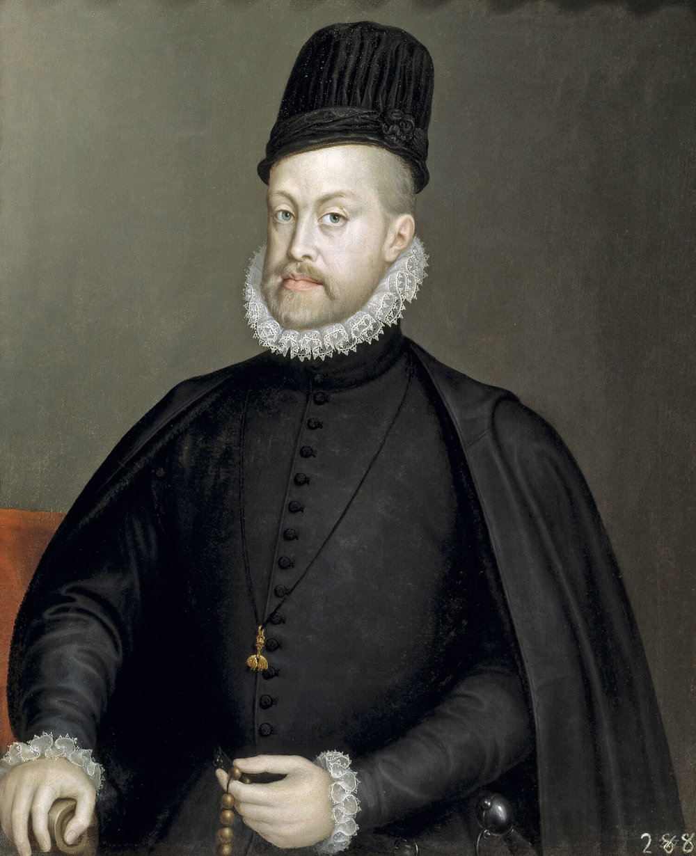 Portrait of Philip II of Spain,  Sofonisba Anguissola