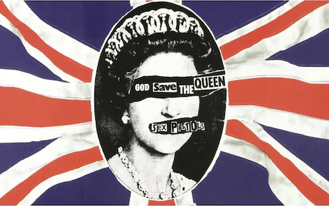 Workers at the Virgin pressing plant went on strike over this image of Queen Elizabeth II.