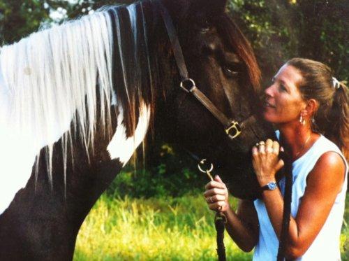 Sue Copeland,  Founder of Hopes, Dreams and Horses (circa 1998 founding year)