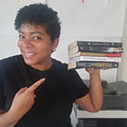 """Jade Sutton - PARA   Jade is very excited to work with students and families at 75 Morton. She started as an elementary school paraprofessional in 2014 and since then has been in middle school, which she adores. She enjoys all kinds of music and dancing, and even plays classical bass. She says she """"consider[s herself] a little odd, and unique but embrace[s] it [because] after all its what makes [her, her]."""" She welcomes you all to 75 Morton!    Jade@75Morton.org"""