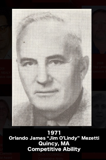 """""""JIM O'LINDY"""" MEZETTI"""