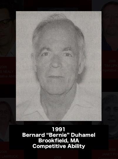 BERNARD 'BERNIE' DUHAMEL