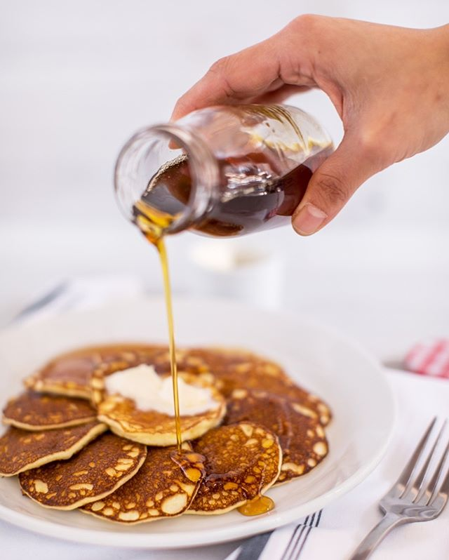 You don't need a spoonful of Vermont maple syrup to make these pancakes go down. But it certainly doesn't hurt. ⠀⠀⠀⠀⠀⠀⠀⠀⠀ .⠀⠀⠀⠀⠀⠀⠀⠀⠀ .⠀⠀⠀⠀⠀⠀⠀⠀⠀ .⠀⠀⠀⠀⠀⠀⠀⠀⠀ .⠀⠀⠀⠀⠀⠀⠀⠀⠀ #pancakes #pancakesocial #pcm #poncecitymarket #atlfoodie #breakfastallday #eeeeeats #healthyish #f52grams #atlbrunch #food52 #eattheseasons #atlfood #eatlocal #foodiegram #atlantaeats #discoveratlanta #atleats #yumyum #pancakeseveryday #pancakestack #pancakelover #fluffypancakes #healthypancakes #pancakeselfie #pancakesfordays #atlantafood #atlanta #atl #atlantafoodie