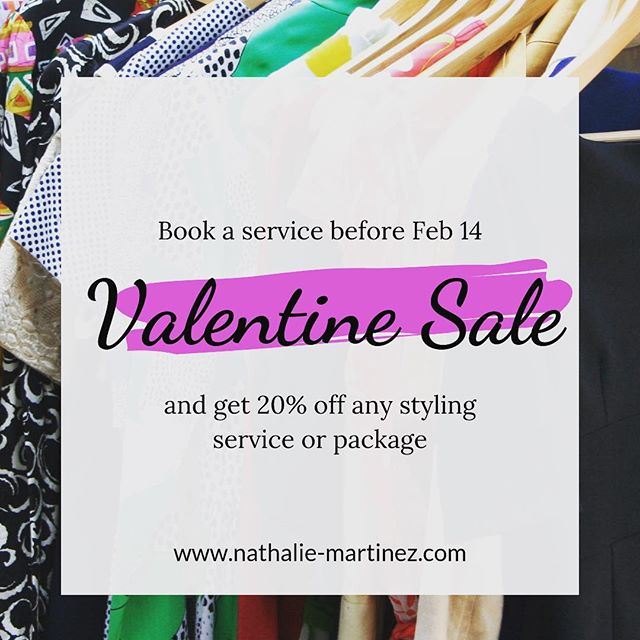 Hey! Guys treat your lady to something she wouldn't expect this Valentine's Day! Or ladies why not treat yourself 🤷♀️ •  Link in Bio to get started •  Share with anyone you feel can benefit from this amazing offer! •  #valentinessale#personalstyle#improveyourstyle#nmstylesjax#jacksonvillefl#sale#getyourstyleon#abetteryou#loveyourself#personalstylist#selflove