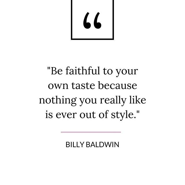 A great reminder not to follow trends  rather follow your own taste.  ____ To follow through, read my latest post: Four Steps to Find Your Personal Style - What it is and Why it matters. 🔗 in Bio —— #personalstyle#stylequotes#nmstylesjax#jaxfl#knowwhatworksforyou