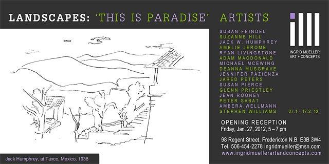Landscapes Group Show 2012