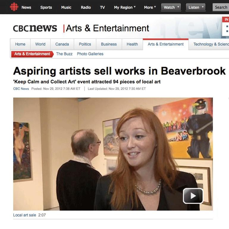 Beaverbrook Members Art Exhibition 2012