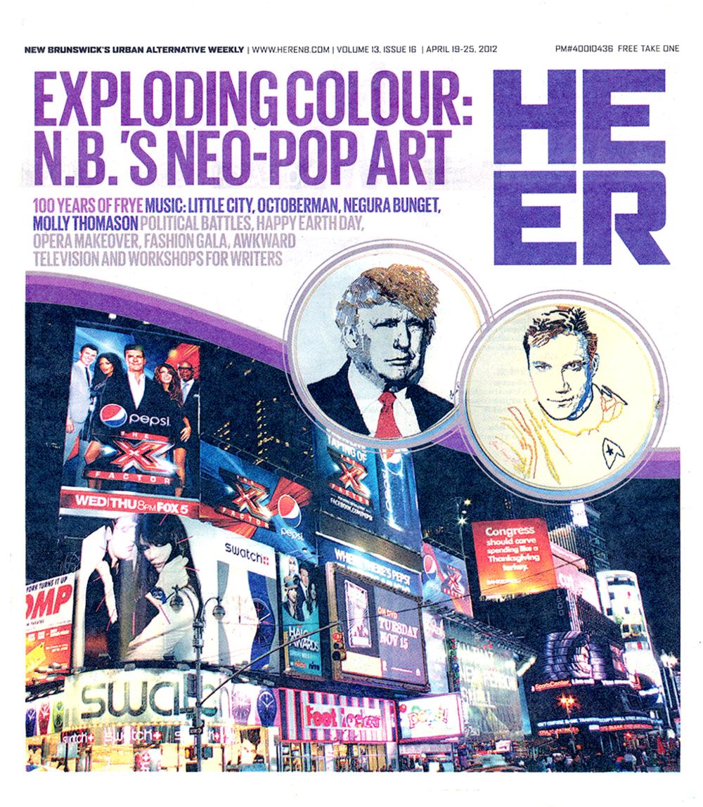 Jean Rooney New Brunswick Pop Art 2012