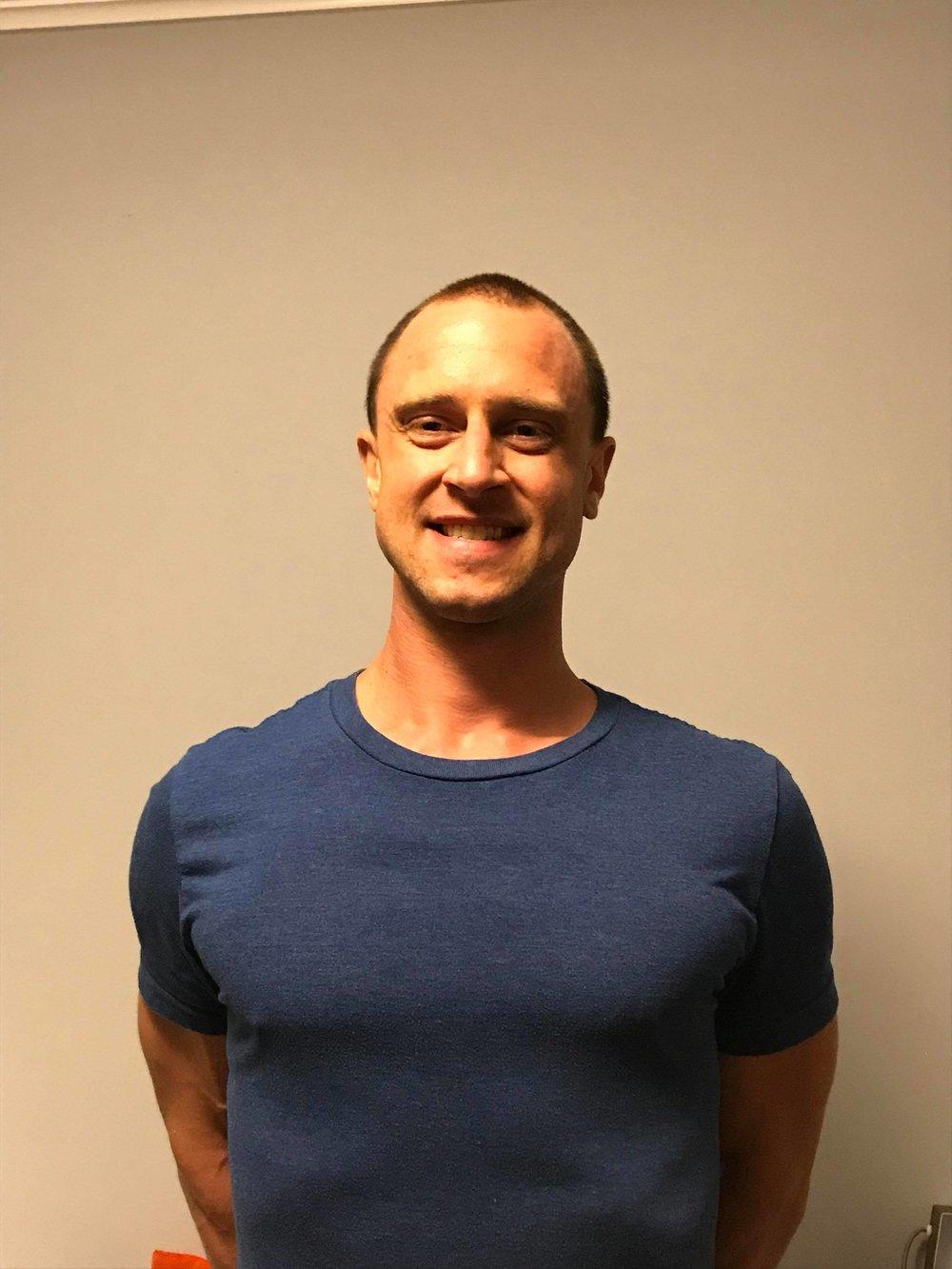Certified HOT HIIT® Instructor Benjamin Goldschmidt