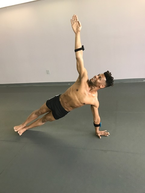 shakiem evans - Shakiem has been performing professionally since the age of nine as an actor, dancer, and singer on Broadway, film, and television. While touring across the USA, Shakiem started practicing yoga to protect his body from the physical demands of dancing.Shakiem took his first HOT HIIT® class at Bode NYC and fell in love with the movement. He found HOT HIIT® to be a great compliment to his yoga practice. He noticed that with the strong core he developed from HOT HIIT® classes, his yoga asanas were improving greatly. Shakiem knew he wanted to share this very special movement with as many people as he could. He became certified in HOT HIIT® at one of the very first trainings at Bode NYC, and has been teaching full time ever since.